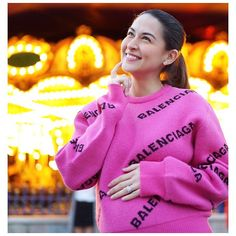 Sue Crystal Official added a new photo. Marian Rivera, Second Baby, Very Excited, Philippines, Gender, Graphic Sweatshirt, Bikini, Unisex, Crystals