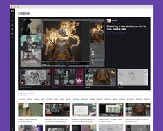 Twitch Expands Further Into Creative Content With The Debut Of A New Section For Artists | TechCrunch