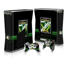 Al-Arabi SC Football team sticker skin for Xbox 360 slim
