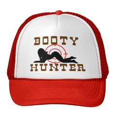 booty hunter     trucker hat