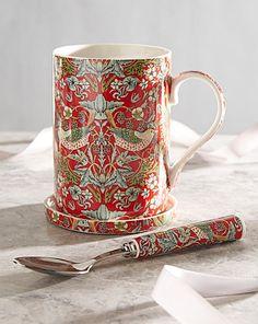 William Morris Mug and Coaster Gift Set | House of Bath