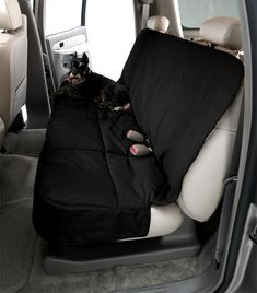 Canine Covers Pet Car Seat Cover - Breathable fabric layers provide optimum traveling temperature for your best friend