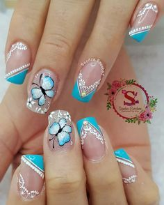 Flower Nails, Pedicure, Acrylic Nails, Nail Designs, Nail Art, Pretty Nails, Gorgeous Nails, Designed Nails, Templates