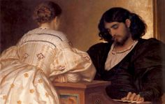 Frederic Lord Leighton - Golden Hours. 1864