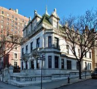 The Schinasi Mansion in Manhattan.  Better known to fans of White Collar as June's home.