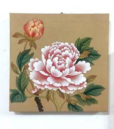 저희 화실은 민화, 채색화, 뎃생, 드로잉, 콜라주 등 다양한 기법을 통해 자신만의 그림을 찾아가는 것을 ... Korean Painting, Chinese Painting, Japanese Flowers, Japanese Art, Botanical Flowers, Botanical Prints, Korean Art, Asian Art, Watercolor Flowers