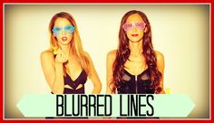 Parody of BLURRED LINES - Robin Thicke ft. King Bach Taryn Southern Julia Price Cover