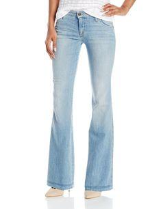 NYDJ Women's Petite Farrah Flare Jeans, Echo Valley, 6 Petite ...