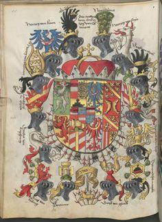 Großes Wappenbild   Coat of Arms