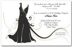 Adult Birthday Invitations: Little Black DressInvitation