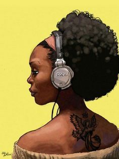 1000  images about Afro American Tattoos on Pinterest | Chocolate bomb ...
