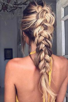 Cool And Must-Have Summer Hairstyles For Women; Must-Have Summer Hairstyles; Summer Hairstyles For Women; Cute Braided Hairstyles, Box Braids Hairstyles, Winter Hairstyles, Wedding Hairstyles, Hair Updo, French Plait Hairstyles, Formal Hairstyles, Hairstyles 2016, Beautiful Hairstyles