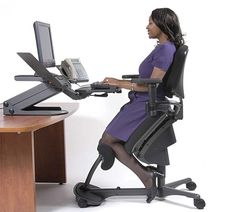 Standing Office Chair