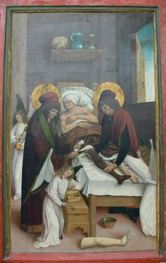40accb505b Legendary Transplantation of a Leg by Saints Cosmas and Damian Assisted by  Angels, German,