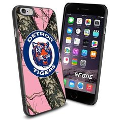 Detroit Tigers MLB PinkCamo Logo WADE6308 Baseball iPhone 6 4.7 inch Case Protection Black Rubber Cover Protector WADE CASE http://www.amazon.com/dp/B013Z45RVO/ref=cm_sw_r_pi_dp_GozFwb1SJJRXX