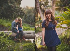Pretty Location for Engagements pictures. Dustin and Lisa. A Balboa Park Engagement Session
