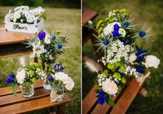 newest pictures color schemes blues bouquets diy recipe : Is the colour program you have decided for ones site inducing any sought after result? Visualizing oneself overwhelmed by the amount of potential web . Picture Color Schemes, Blue Color Schemes, Blue Bouquet, Diy Bouquet, Blue Wedding, Wedding Day, White Day, Aesthetic Colors, Bridal Flowers