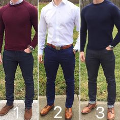 Smart casual Friday is coming. @chrismehan  Quick survey which one do you prefer 12 or 3?