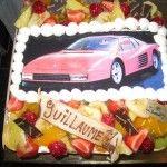 Ferrari taart met foto van Bakkerij Excellence http://www.excellence.be