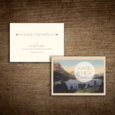 Save the Date Postcard : Tupy Boutique