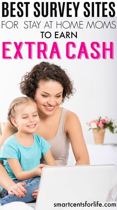 Over 10 high pay survey sites for stay-at-home-moms to earn extra money. Ideal for moms, college students or anyone who wants to earn a side income!. Extra income | earn money | stay at home jobs | stay at home mom jobs |survey for money | make money fast | extra cash | make money at home | make money online | earn extra money | side hustle ideas