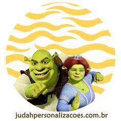 Aqui tem o kit festa completo do Shrek
