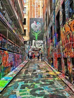 Wall Street GRAFFITI