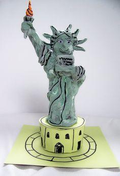 Model Magic Statue of Liberty   The Art Annex