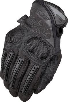 XL Handschuhe Mechanix M-Pact Fingerless Schwarz Schwarz