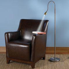 The Brightness Zooming Natural Light Lamp - Hammacher Schlemmer