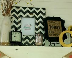 8x10 distressed frame picture frames black by TurquoiseFarmHouse