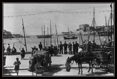 photographed during the German occupation Greece Pictures, Yesterday And Today, Athens Greece, Old Photos, Sailing Ships, Nostalgia, The Past, Greek, Journey