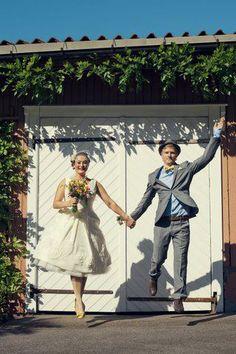 Real BHLDN Bride & Groom