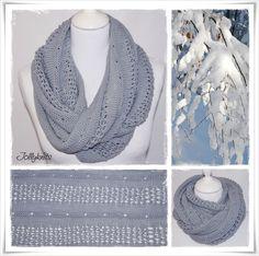 WINTER WONDERLAND Strickanleitung Loop / Cowl knitting pattern