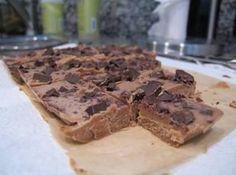 Almond Chocolate Freezer Fudge Recipe
