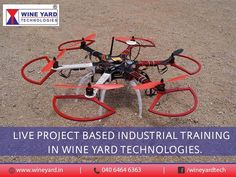 Live #Project based industrial #Training in Wineyard Technologies