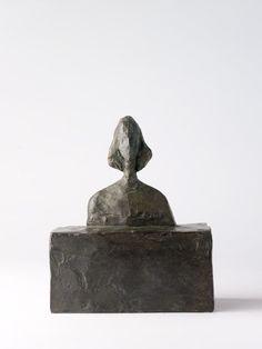 Alberto Giacometti, Small Bust of Annette, 1946