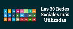 Ranking Redes Sociales más Utilizadas: Nueva lista con los datos actualizados de las 30 redes sociales más utilizadas en todo el mundo. Incluye descripción