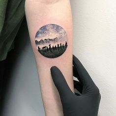 Lord of the Rings tattoo by Eva Krbdk