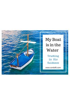 It's time to launch the boat! Read what it's like to start a blog as you venture out into the vast sea of the blogging world.