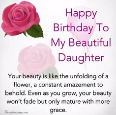 Happy Birthday Wishes For Daughter - Inspirational, Heartwarming & Funny Birthday Daughter In Law, Happy Birthday Quotes For Daughter, Birthday Wish For Husband, Happy Birthday Best Friend, Daughter Quotes, Happy Birthday Wishes, Child Quotes, Son Quotes, Mother Quotes