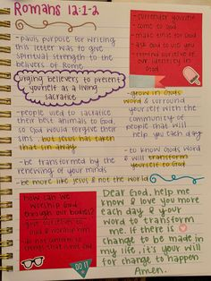 Bible Study Notebook, Bible Study Journal, Notebook Ideas, Scripture Study, Bible Art, Bible Journaling For Beginners, Bible Studies For Beginners, Faith Bible, Bible Scriptures
