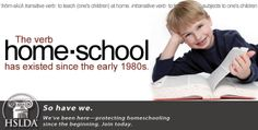 The verb home•school has existed since the early 1980s. So have we! | HSLDA