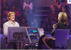 Host and contestant one on one… wrong answer, you lose. Next player
