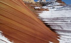 """""""Our winter hike to The Wave in northern Arizona."""" (From: 32 Spectacular Photos of Winter Wonderlands)"""