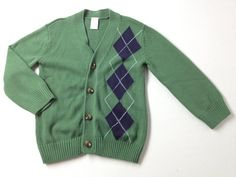 Boys size 5 Gymboree Button Up Light Sweater