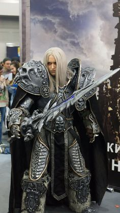 It's took 5 month to make this armor and 3 years to gain an experience for it. Arthas debuted at Comic Con Saint Petersburg 2016. Thanks to my talented and lovely wife Narga-Lifestream for help wit...