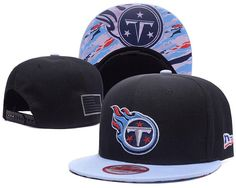 ab558810a Men s Tennessee Titans New Era 9Fifty NFL Crafted in America Snapback Hat -  Black   Grey