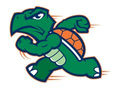 Runnin' Turtles designed by Dino Henderson. Connect with them on Dribbble; Mascot Design, Logo Design, Small Turtle Tattoo, Cool Football Helmets, Fantasy Football Logos, Fantasy Logo, Small Turtles, Beard Designs, Farm Logo
