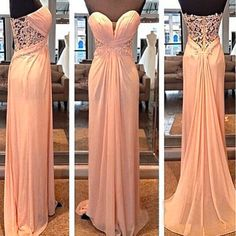 Lace prom dress, see through prom dress, blush pink prom dresses, long prom dresses,Off-the-shoulder dress